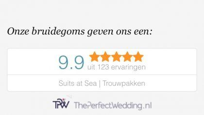 Reviews - KlantErvaringen Suits at Sea Trouwpakken - Trouwpak Experience als Beste Beoordeeld
